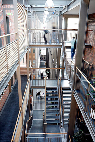 Campus Frederiksberg set indefra