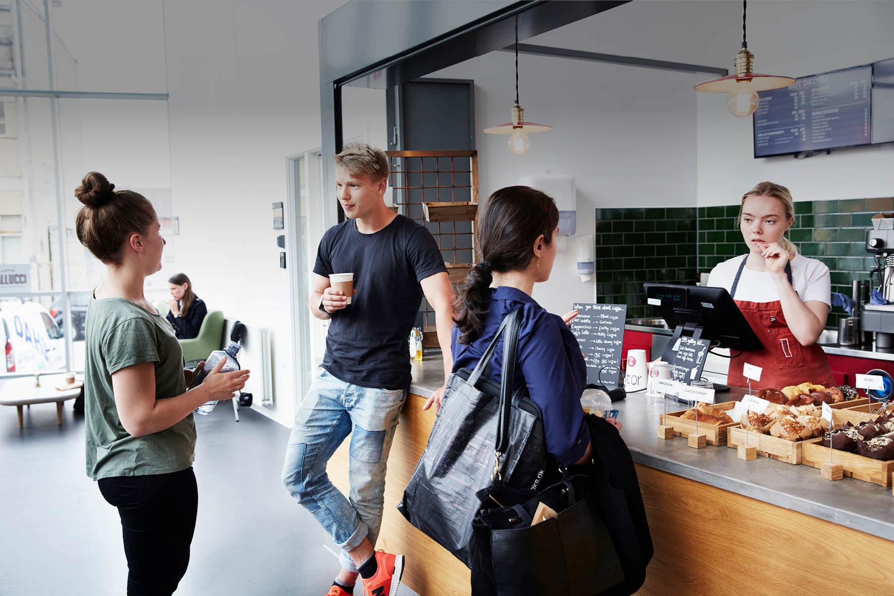 Campus Sigurdsgade - Cafe