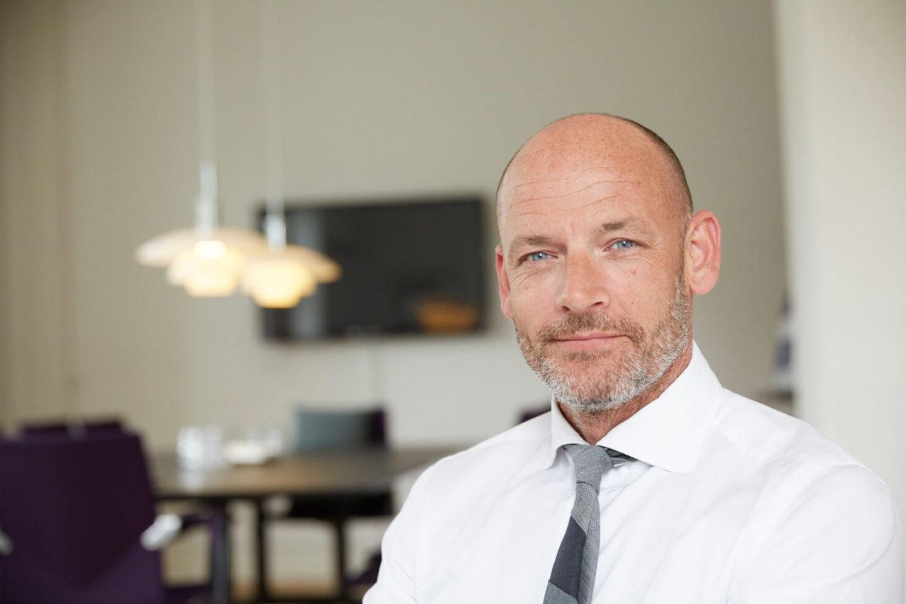 Rektor Stefan Hermann fra Københavns Professionshøjskole