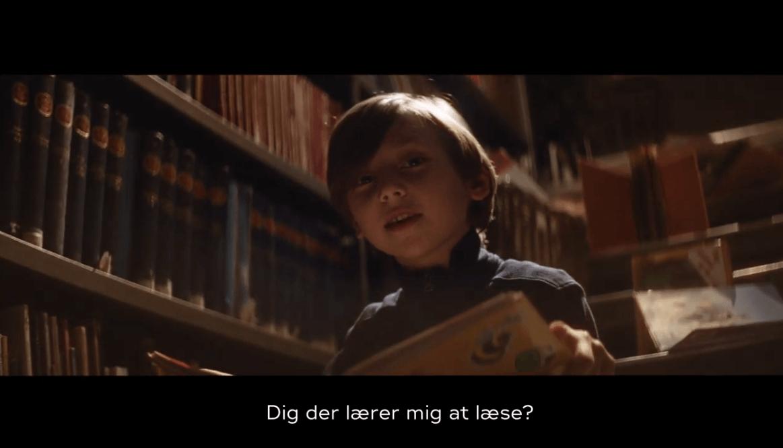 Dig der lærer mig at læse?