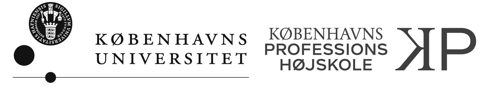 Logo for Københavns Universitet og KP
