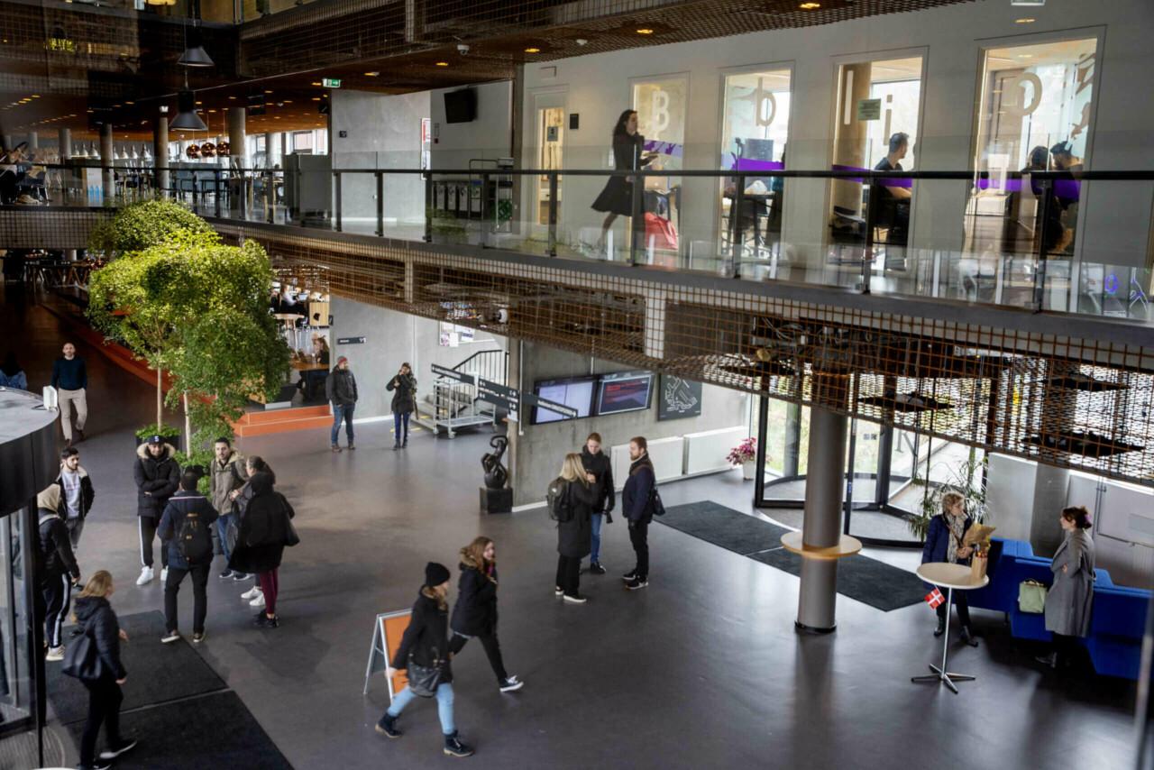 Indgangsområdet på Campus Sigurdsgade