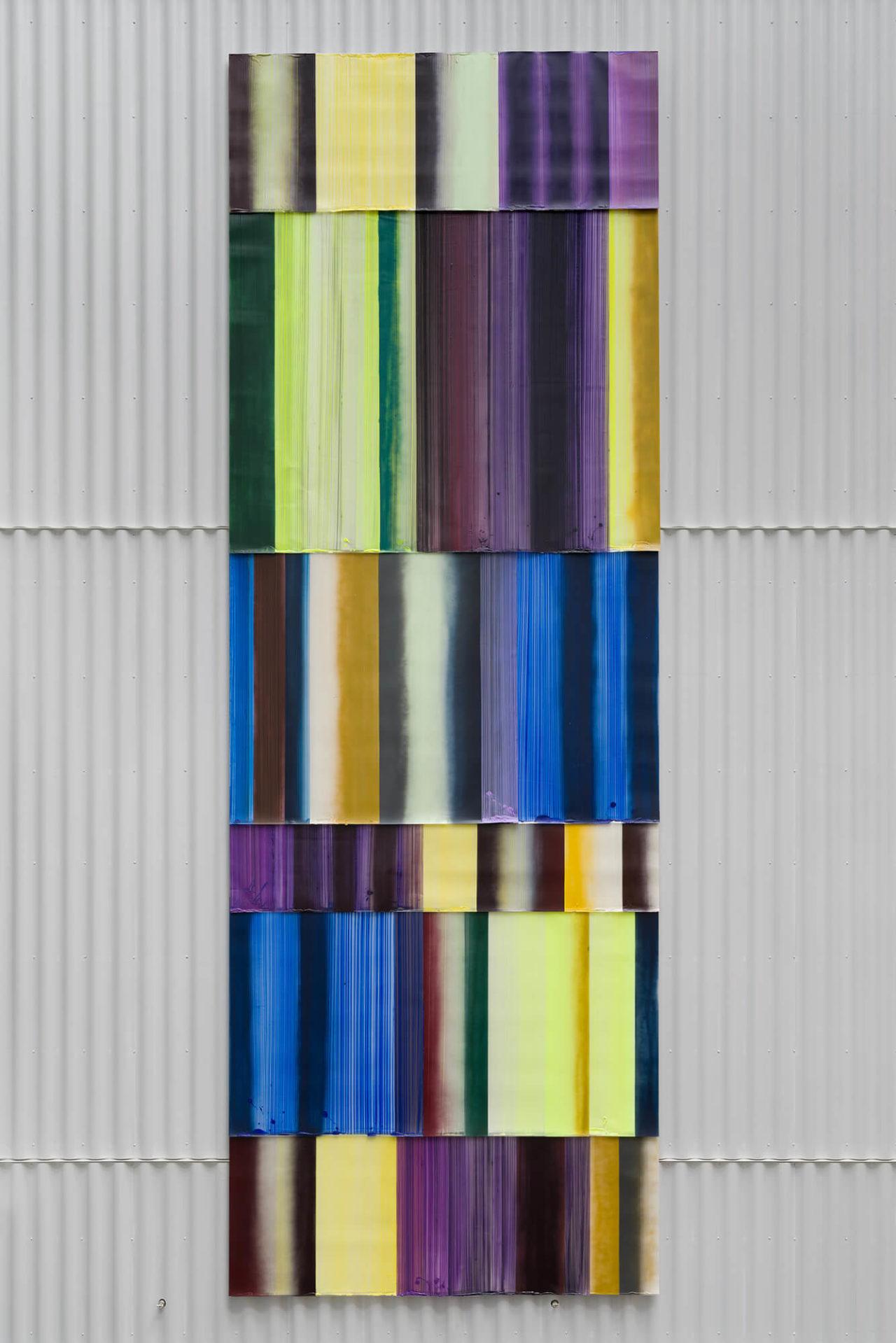Ruth Campaus kunstværk Rapidly Varied Channel Flow på Campus Carlsberg
