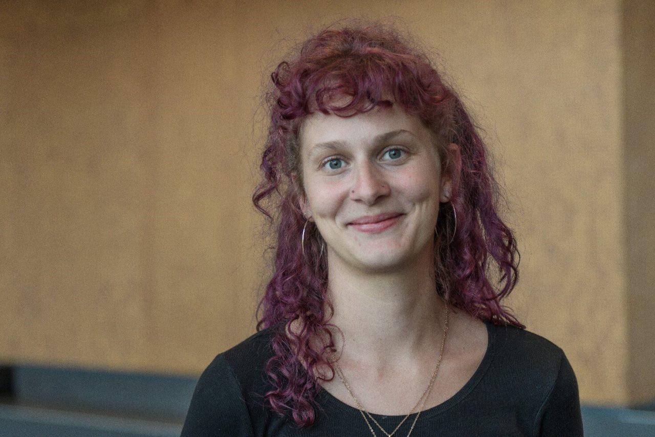 Amalie Heegård Helgesen fra Studenterrådet ved KP 2020